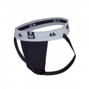 Bike Jockstrap Black with 2 Inch Waistband