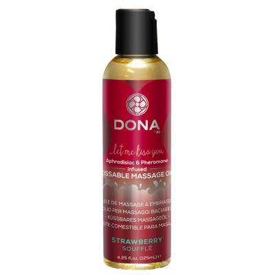 DONA Kissable Massage Oil Strawberry Souffle 110ml