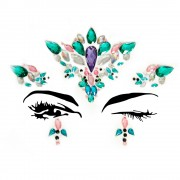 Ariel Face Jewels Sticker EYE007
