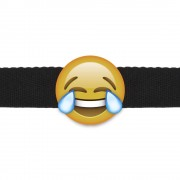 Emogag Laughing Out Loud Emoji Ball Gag