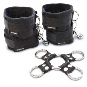 5 Pc Hog Tie  and  Cuff Set