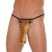 Brown Horse Novelty GString