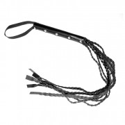 Leather Whip 25.5 Inches