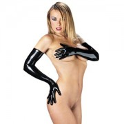 Rubber Secrets Long Gloves