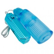 Cyberskin Solo Slider 5X Pulsating  and  Vibrating Stroker